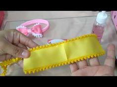 Diy Bow, Diy Ribbon, Bow Template, Hair Ribbons, Baby Hair Bows, Hair Claw, Making Hair Bows, Diy Headband, Flower Making