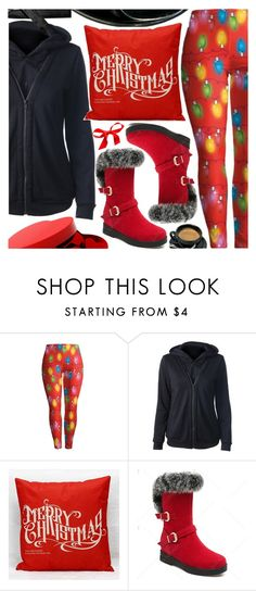 """""""Christmas cozy"""" by pastelneon ❤ liked on Polyvore"""