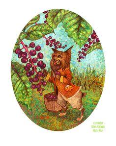 Storybook Illustration by Angela Rizza, via Behance