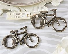 Kate Aspen Let's Go On An Adventure Bicycle Bottle Opener Best Offer. Best price Kate Aspen Let's Go On An Adventure Bicycle Bottle Opener. Made of metal with a pewter wrap up. Accompanies a texture tag. Grommet in bike wheel goes about Wedding Favors And Gifts, Creative Wedding Favors, Inexpensive Wedding Favors, Beach Wedding Favors, Destination Wedding, Gift Wedding, Wedding Wishes, Wedding Cake, Wedding Tokens