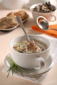 Poľovnícka polievka s hubami