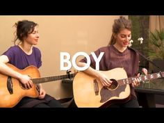 ▶ Boy - Drive Darling - Acoustic [ Live in Paris ] - YouTube