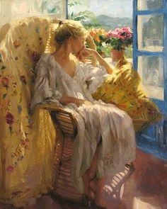 Pintor figurativo Espanhol | Vicente Romero Redondo 1956