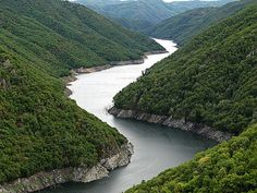 Nestos River in Northern Greece