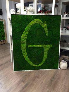 Logo, zielone logo