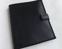 JW Ministry Organizer|JW Magazine Holder|JW Tract Holder|Service Organizer|Invitation Holder|Contact Card Holder:Black Faux Leather Vinyl
