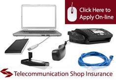 Telecommunication Equipment Shop Insurance