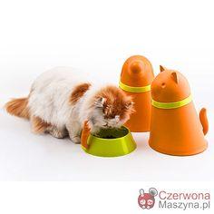 Pojemniki z miską dla kota Qualy - CzerwonaMaszyna.pl