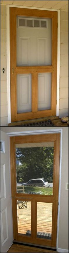 How To Build A Screen Door  http://theownerbuildernetwork.co/hult  There's not much worse than a house filled with annoying flies or mosquitoes. This handmade screen door will keep the bugs out but let the fresh air in.