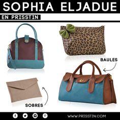 En Prisstin encontrarás a Sophia Eljadue con su colección  de bolsos  inspirados en una mujer citadina y práctica.