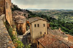 Montepulciano - View