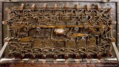 The stunning inner-workings of a chest lock in Levoča, Slovakia.