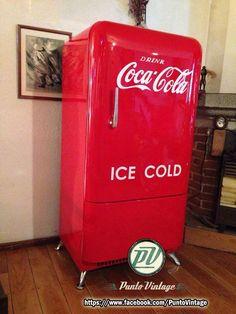 En venta refrigerador 40s Coca Cola 15% descuento