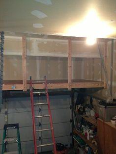 Exceptional Garage Loft Storage