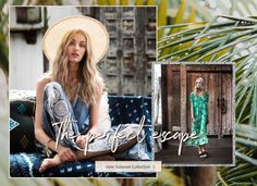 View our Summer collection. The perfect escape. Summer Collection, Fashion, Fashion Styles, Fashion Illustrations, Trendy Fashion, Moda