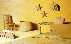 Jaune d'or paru dans MilK Decoration 2. Gold yellow published in MIlk Decoration 2. Style : Julie Boucherat et Mélanie HŒpffner. Photos : Claire Israël