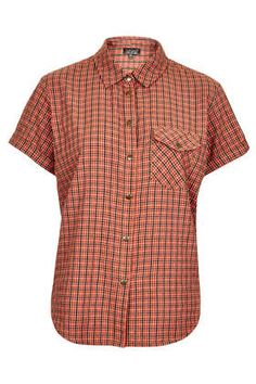 Shortsleeve Check Shirt - This Is England  - Clothing