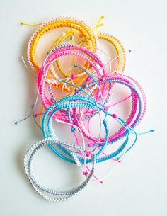 Breezy Friendship Bracelets | Purl Soho