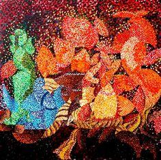 FerrArt Gallery / Münchenstein | Composizioni Impressionism Art, Picasso, Red, Painting, Black, Impressionism, Kunst, Black People, Painting Art