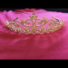 Tiara Gorgeous high end tiara. Purchased at a bridal store and wore on my wedding day. Accessories Hair Accessories