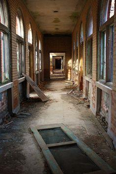 Abandoned mental health hospital Manteno, Il