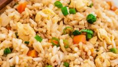 Easy Fried Rice in rice cooker