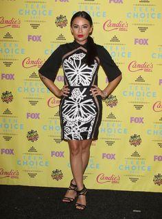 Janel Parrish at Teen Choice Awards 2015