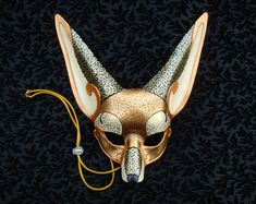 Options for a mask wedding... Venetian Fennec Fox Mask V2 by *merimask on deviantART