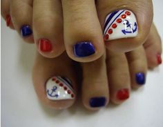 If you are looking for some easy and cute pedicure designs then making toe nails designs with strips of different styles id best. Description from nailartpatterns.com. I searched for this on bing.com/images