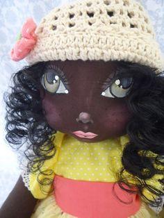Boneca de Pano étnica