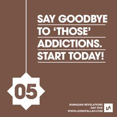 Ramadan Revelations: Day Five What are the things that you can't stop doing, or feel depressed& if you stop yourself from doing? Ramadan Tips, Ramadan 2016, Ramadan Day, Islam Ramadan, Ramadan Activities, Ramadan Mubarak, Quran Verses, Quran Quotes, Allah Quotes