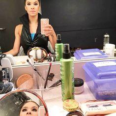 Misty Copeland backstage selfie in #FLXnyc #OdileVest