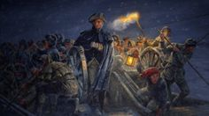 Frozen rivers, knee-deep snows, sleet, frigid temperatures, and other winter miseries figure prominently in the story of George Washington.