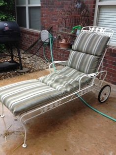 Meadowcraft chaise