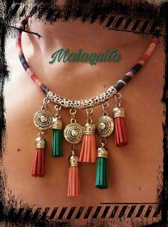 Collar Colores encontranos en facebook @malaquius