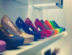 colorful, colors, fashion, glitter. <3