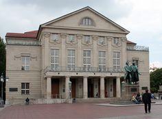 Nationaltheater Weimar in Thüringen, Germany