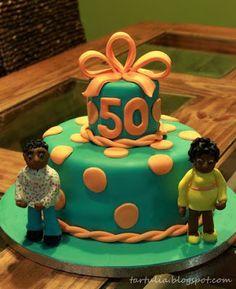 Tarta 50 cumpleaños