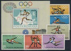 K-1 Rumunia Blok 93 Zn 3012/17 ** Olimpiada Sport