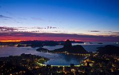 Amanhece no Rio de Janeiro. Foto: Guilherme Leporace / Ag. O Globo