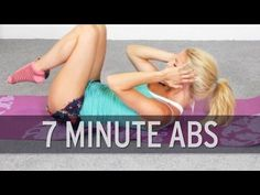 Amazing 7 Minute Ab Workout From XHitDaily To Get You A Flatter Stomach! Amazing 7 Minute Ab Workout From XHitDaily To Get You A Flatter Stomach! 7 Minute Ab Workout, 7 Minute Abs, Best Ab Workout, Workout Videos, Body Fitness, Fitness Tips, Health Fitness, Health Exercise, Flatter Stomach