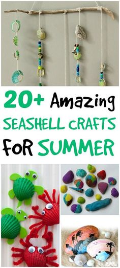 Do you collect seashells? Here are 20+ Amazing Seashell Crafts for Adults and Kids. I love the bangle bracelet! You're sure to find a craft perfect for you and your kids.