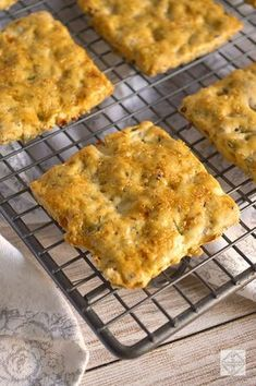 Crackers de Cebolla y Semillas