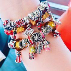 "MyPandoralife on Instagram: ""Loving the russian doll ! #pandorabracelet #followme #pandoracny2018 #ilovemypandorabracelet #pandorabangle #pandorabracelet 😊 ❤️ #pandora…"" Pandora Bangle, Pandora Bracelet Charms, Pandora Travel Charms, Pandora Collection, Pandoras Box, Craft Storage, Bracelet Designs, Display Ideas, Troll"