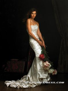 find your own Ruffles Mermaid Wedding Dresses come here connect with us