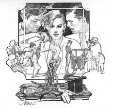 Drew Struzan 79 Park Ave ad piece Comic Art