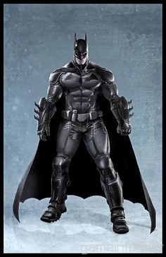 I'm really liking Batman's Arkham Origins design here. My only concern, though, is that it's crossing as too updated when compared to his Asylum and City outfits. Unless they're just making a primitive Armored Edition suit. =/