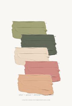 Room Colors, House Colors, Paint Colors, Colours, Colour Pallette, Colour Schemes, Color Combinations, Vert Pantone, Pantone Color