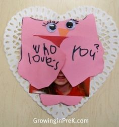 Christian Valentines day art activities | Valentine's Day | Preschool - Art Projects
