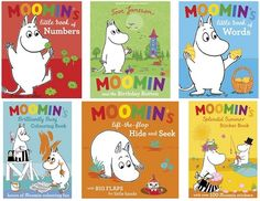 moomin books. I have a few of them. Moomin is just too sweet